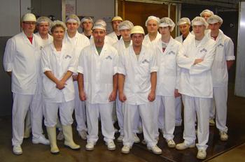 Lehrausbildung Pommernland Fleisch- und Wurstwaren GmbH Stavenhagen