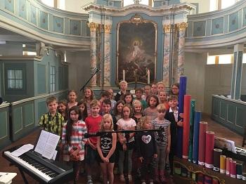 In der Orgelwerkstatt der Evangelisch-Lutherischen Kirchengemeinde
